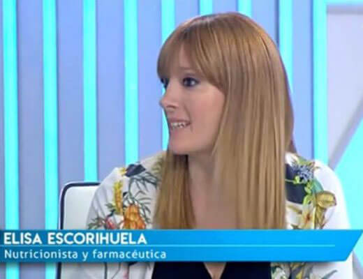 Elisa Escorihuela TVE Saber Vivir